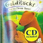 Flip-up Fairy Tales:Goldilocks+CD 金发姑娘和三只熊(附CD)(2005年学龄前儿童实