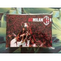 AC米兰百大球星纪念版套卡 经典意甲米兰足球卡 球迷礼品生日礼物 黑色
