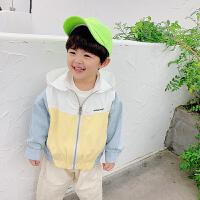 童装男童外套中小童儿童休闲时尚宽松宝宝衣服
