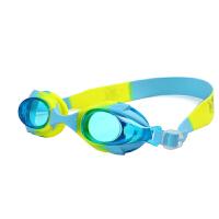 儿童泳镜防水防雾硅胶带大框高清平光潜水镜