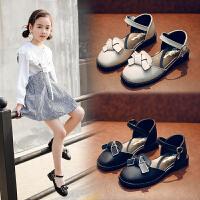 凉鞋女童皮鞋公主鞋儿童单鞋豆豆鞋演出鞋宝宝鞋