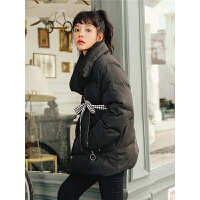 时尚宽松短款羽绒服秋冬装女2019新款韩版长袖百搭小个子外套学生
