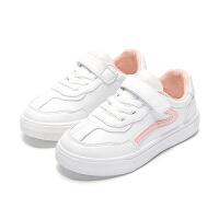 女童小白鞋新款春秋款百搭鞋子女孩运动板鞋儿童春季透气童鞋