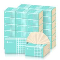 喜朗谷斑丽人本色抽纸24包装3层加厚款餐巾纸竹浆纸巾整箱面巾纸家用装