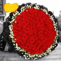 """""""鲜菊花一束 """" 99朵红玫瑰花束生日鲜花速递北京上海广州深圳成都杭州西安同城送"""