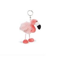 德国nici火烈鸟钥匙扣粉色公仔女生包包配饰儿童公仔玩具