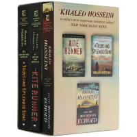 追风筝的人 灿烂千阳 群山回唱 全英文原版小说书籍 The Kite Runner 胡赛尼小说3册套装 正版进口书 全