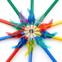 小学生握笔器写字矫正握笔姿势铅笔用幼儿儿童软握笔矫正器小鱼