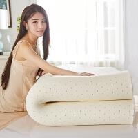 家�乳�z床�|1.5m1.8米�p人可折�B加厚榻榻米�稳�1.2米床褥子