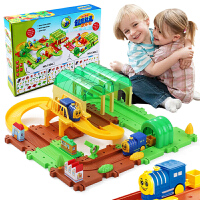 小火车套装儿童玩具汽车男孩女孩3-6周岁男童轨道可充电动