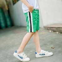 童装男童运动短裤夏装新款儿童裤子男孩中裤中大童夏季韩版潮
