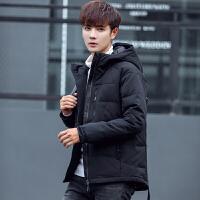 男士户外羽绒服短款韩版修身青年加厚学生潮流帅气冬季装外套男装