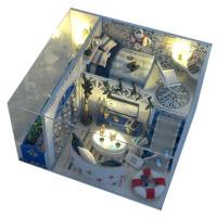 diy小屋海洋之恋别墅手工房子模型拼装玩具女生创意生日礼物
