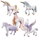 儿童幻兽系列动物模型玩具天马飞马独角兽