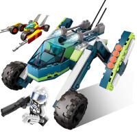 儿童玩具积木拼装地球边境星球大战坦克飞机军事我的