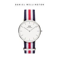 DanielWellington丹尼尔惠灵顿 DW手表女 36mm织纹女表进口石英表