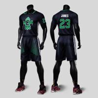 篮球衣男东部西部篮球服套装 定制短袖训练服印号队服 XX