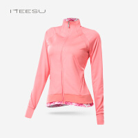 秋冬瑜伽服外套拉链开衫女运动长袖健身跑步速干上衣修身外套