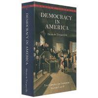 正版 Democracy in America 英文原版小说 民主在美国 论美国的民主 英文版 社会学著作 托克维尔 进