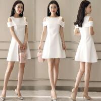 年新款连衣裙纯色碎花韩版潮流时尚百搭休闲显瘦修身气质优雅