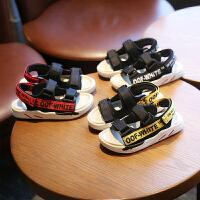 男童鞋子�鲂�夏季女童�底小孩中大童男孩�和�沙�┬�