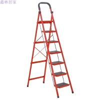 家用7步8步加厚移动折叠人字室内室外伸缩楼梯多功能扶梯