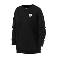 Converse匡威女装2018黑色经典运动休闲卫衣套头衫10005450