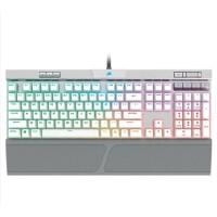 美商海盗船 (USCORSAIR) K70 RGB MK.2 白色 CherryMX银轴 机械键盘 炫彩背光 PBT键