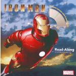 英文原版绘本 Iron Man 漫威复仇者联盟钢铁侠 迪士尼有声独立阅读 附CD