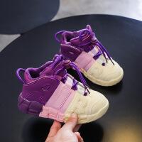 儿童篮球鞋男童运动休闲网鞋女童
