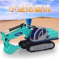 小号工程车儿童模型玩具汽车履带挖掘机挖土车沙地玩具礼物