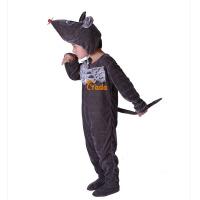 黑老鼠宝宝表演儿童演出服女跳舞蹈衣冬小老鼠动物造型服装套装男春秋季