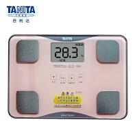 百利达(TANITA) 体脂仪 成人家用精准电子小型脂肪秤 体脂体重称 日本品牌 BC-718 粉色