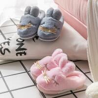儿童棉拖鞋保暖宝宝室内居家鞋包跟棉鞋冬季