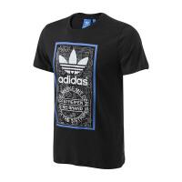 adidas阿迪达斯三叶草男装短袖T恤2018年新款运动服BP8986