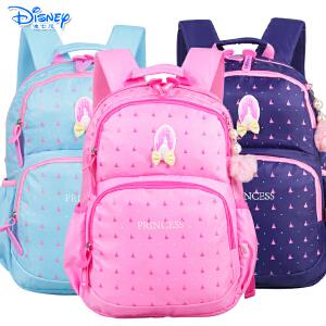 迪士尼小学生高年级-初中女童双肩书包儿童双肩休闲背包PL0183