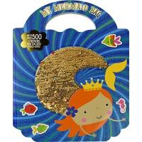 【首页抢券300-100】My Mermaid Bag 我的美人鱼小书包 寓教于乐 趣味益智贴纸活动书 3-6岁 幼儿英