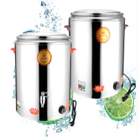 商用电热桶不锈钢保温桶户外小吃设备保温恒温桶开水桶煮面炉