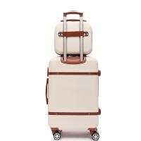 行李箱女韩版小清新皮箱子拉杆箱男万向轮24寸大学生20密码旅行箱