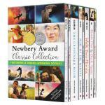 英文原版 纽伯瑞获奖儿童小说 8册套装 Newbery Award Classic Collection 坟场之书 又
