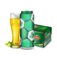 青岛啤酒经典10度足球罐 500ml*12听整箱装