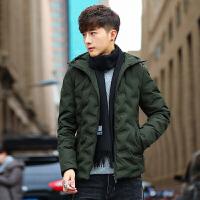 羽绒服男短款新款冬装韩版潮学生青少年男士外套冬季轻薄男装