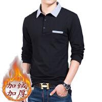 秋装男士长袖T恤宽松潮流衣服秋衣上衣韩版polo衫个性外穿体恤衫