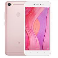 小米 红米Note5A 全网通版 3GB+32GB 樱花粉 移动联通电信4G手机 双卡双待