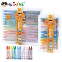 西瓜太郎油画棒盒装12/24色绘画彩色幼儿园宝宝画笔儿童蜡笔套装