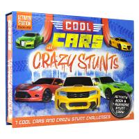 Activity Station Cool Cars Crazy Stunts 酷炫汽车疯狂特技游戏套盒 儿童手工英语