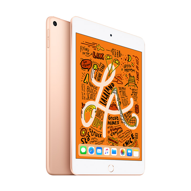 Apple iPad mini 2019年新款平板电脑 7.9英寸 256G WLAN版 金色 MUU62CH/A 国行正品 全国联保