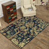 欧式地毯客厅沙发茶几欧美复古怀旧地毯房间卧室地毯榻榻米垫定制 2米X3米 送地垫