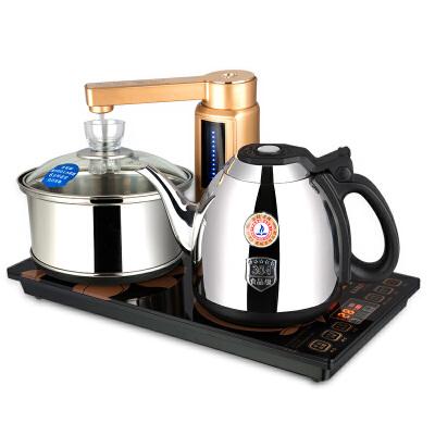 金灶(KAMJOVE) V9全智能自动上水电热水壶泡茶电茶壶茶具套装电茶炉 V9 全智能茶艺炉 一键智能煮水  37*20尺寸