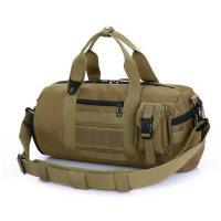 大包手提包旅游防水男女徒步户外战术登山包旅行背包单肩包斜跨桶包